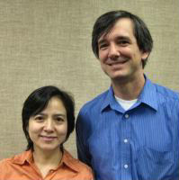 Ping Yu with Dr. Tate