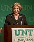 President Gretchen Bataille
