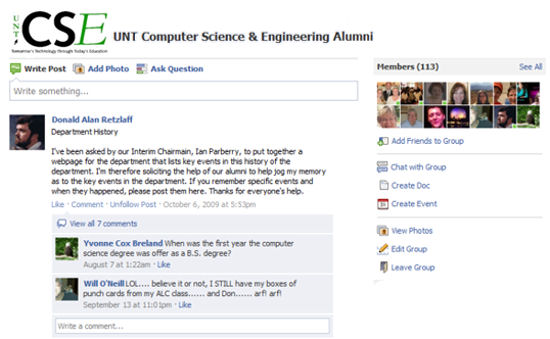 UNT CSE Alumni Email Newsletter - September 2013