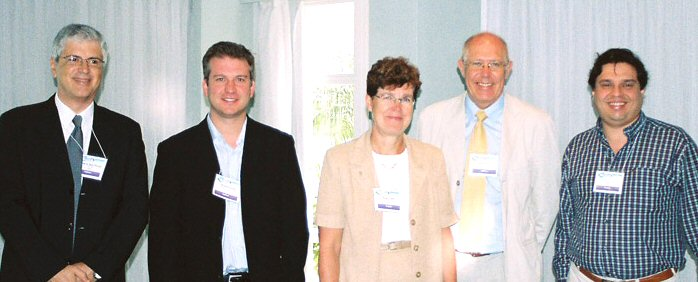 Garlick & Presenters at ICEE 2006