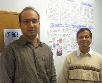 Dhruva Ghai and Dr. Mohanty outside the VDCL