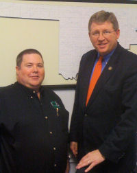 (L-R) David Keathly and Congressman Frank Lucas (R-Okla.)