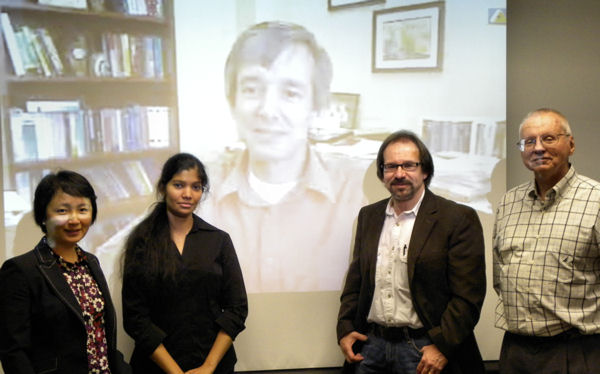 Dr. Roopa Vishwanathan and her dissertation committee