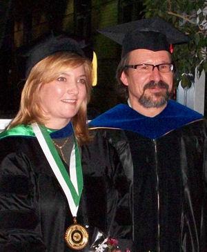 Dr. Tina Johnson and Dr. Armin Mikler